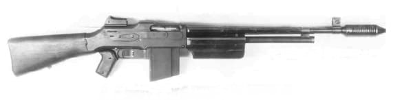 Colt Monitor machine gun.