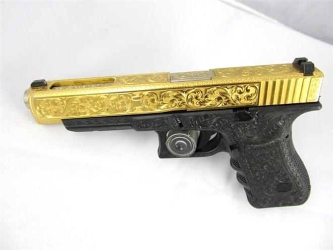 Engraved Glock - pix553651263