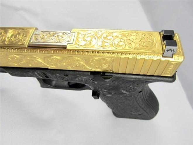 Outrageous Engraved, Gold-Plated Glock (10 PHOTOS) - Guns com