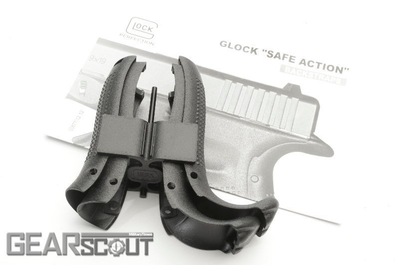 Glock Factory Beavertail Backstraps (6)