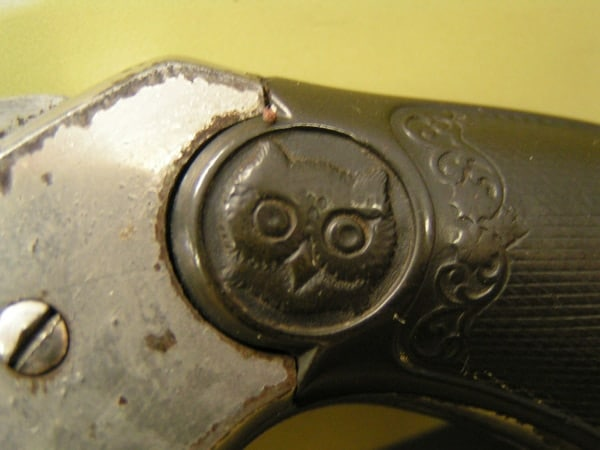 Iver Johnson owl.