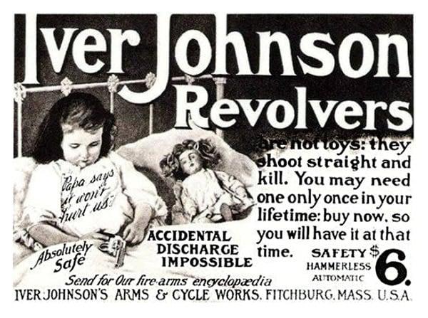 Iver Johnson revolvers ad
