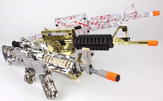 Paper Pellet Gun 1
