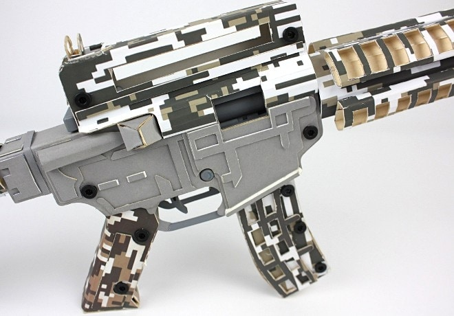 Paper Pellet Gun 2