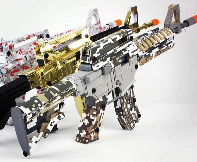Paper Pellet Gun 4