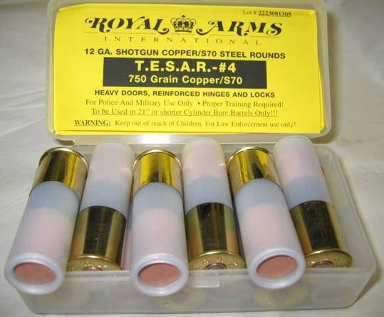 TESAR breaching rounds