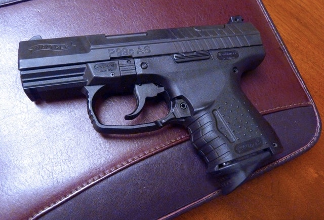 The Walther P99c AS.