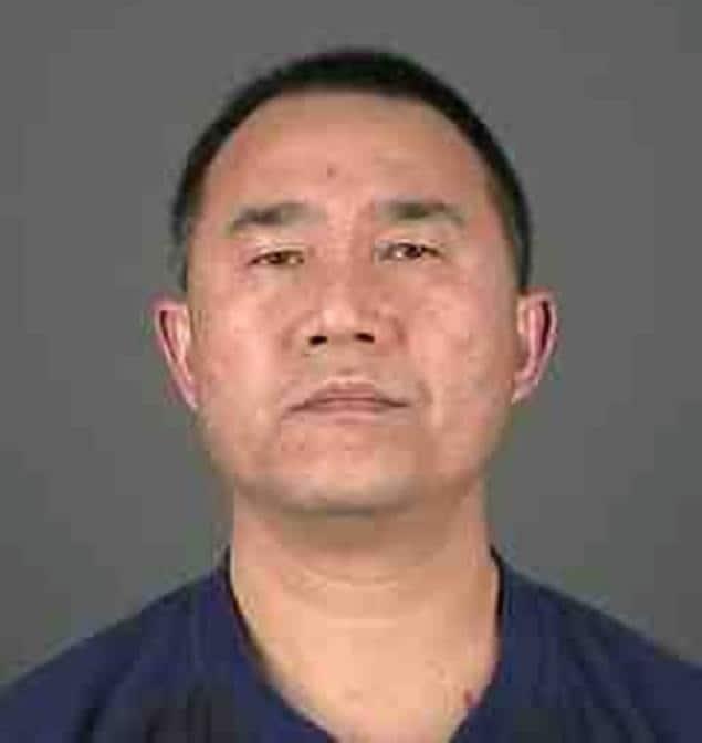 The suspect Yiqiang Wu.