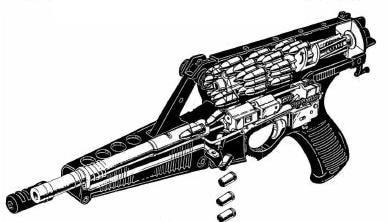 Calico cutaway