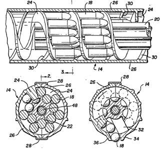 Calico magazine patent drawings