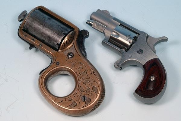 My Friend next to NAA mini revolver for comparison