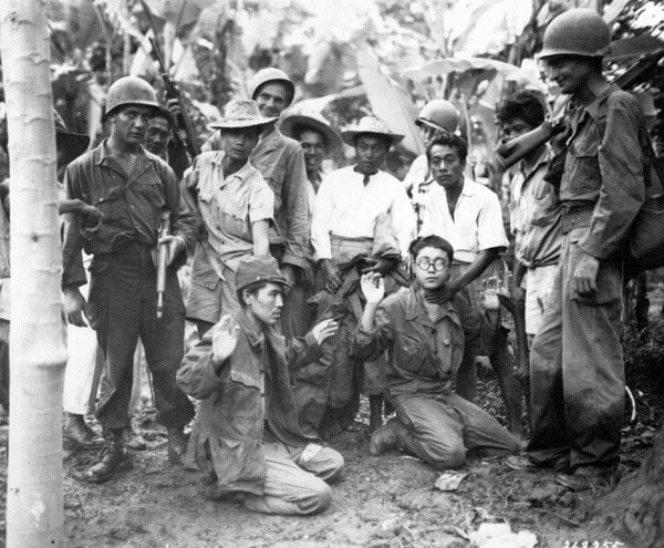 Filipino Guerillas and US Troops
