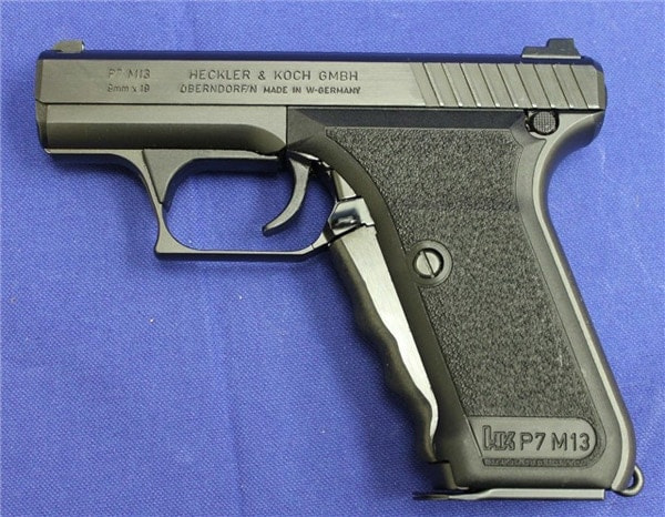 HKP7 M13 handgun.