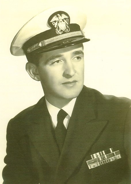 Illif David Richardson in Naval Uniform after the war.