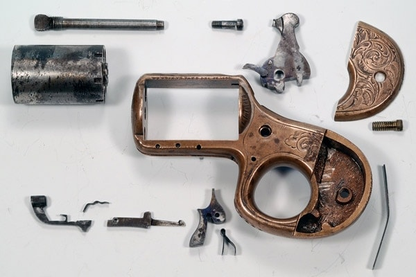 Knuckleduster disassembled