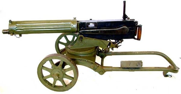 Maxim Sokolov Machine gun