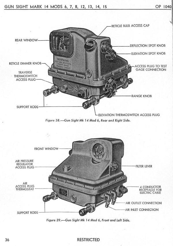 Mk 14 gunsite