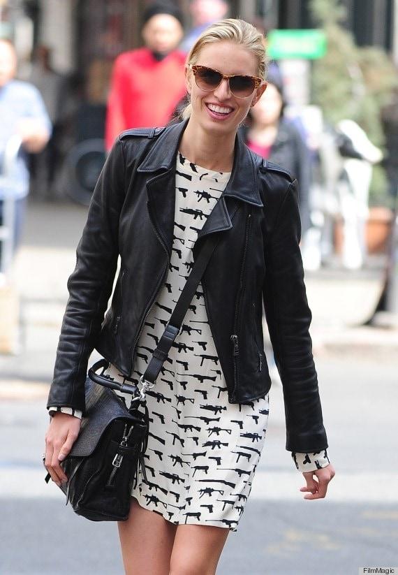 Celebrity Sightings In New York City - April 19, 2013
