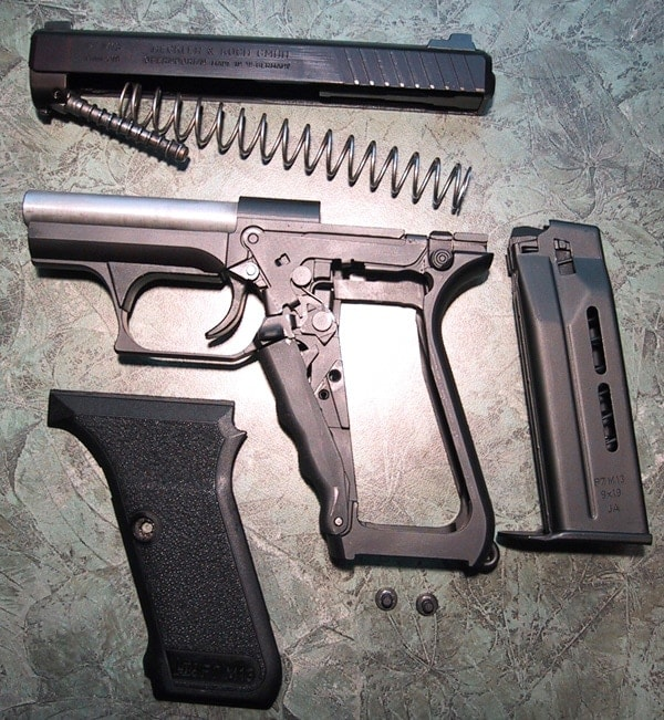 HKP7 M13 disassembled