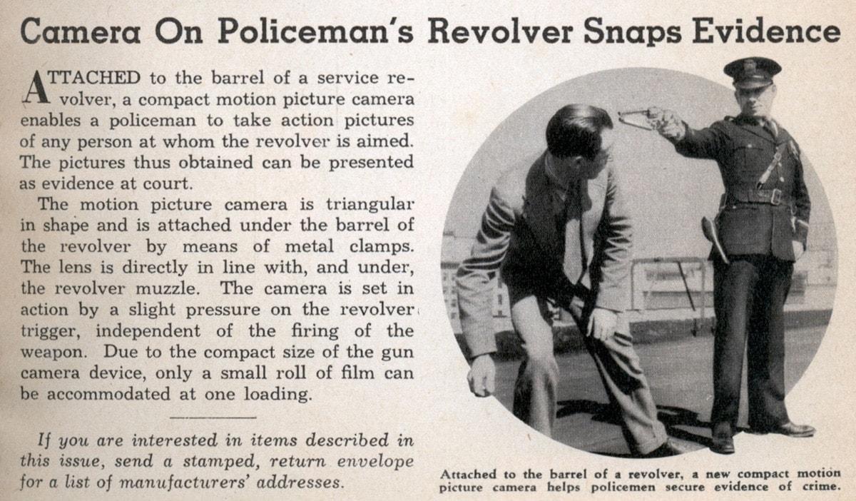 Revolver camera