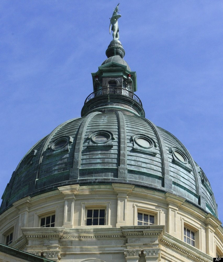 Kansas State Capitol - Topeka, Kan. (Photo: AP/Orlin Wagner)