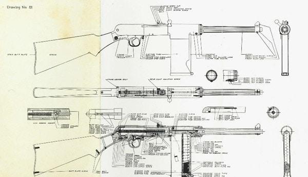 Smith 1940 light rifle diagram