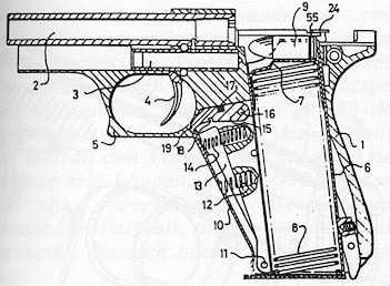 Diagram of HKP7 showing squeeze cocker