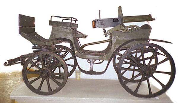 Tachanka gun cart