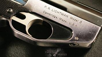 'P.R. Lichtman' adorning a Massachusetts made Semmerling pistol.