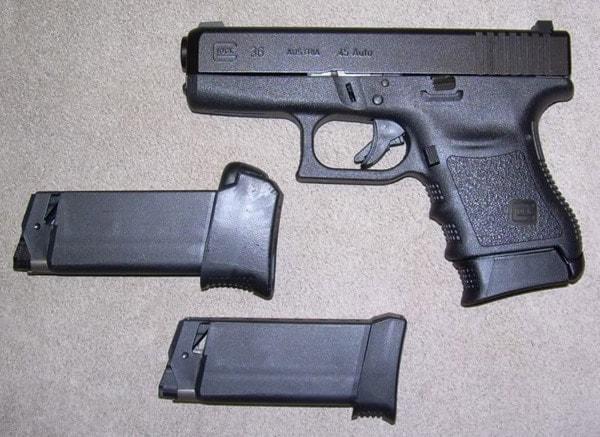 Glock 36.