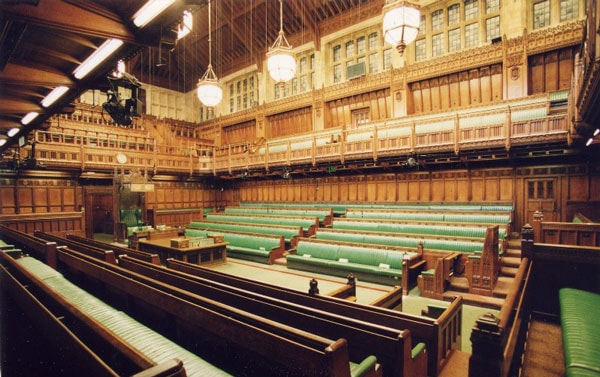 The House of Commons (Photo credit: Wikimedia)