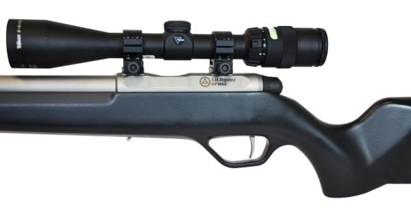 Lithgow Arms LA101 CrossOver with scope mounted