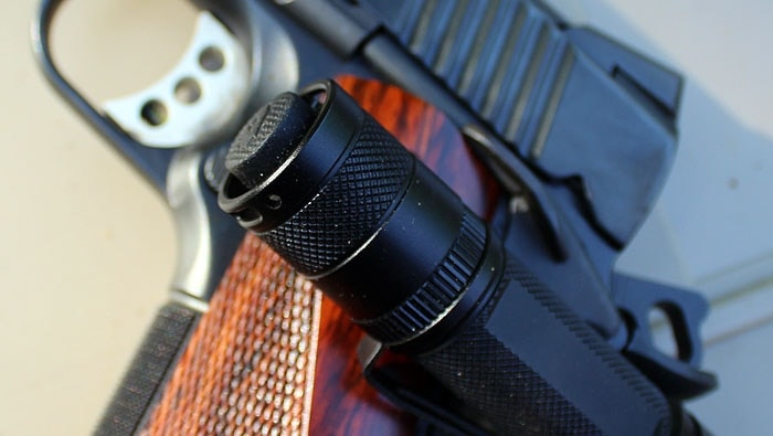 QT2L-X on handgun