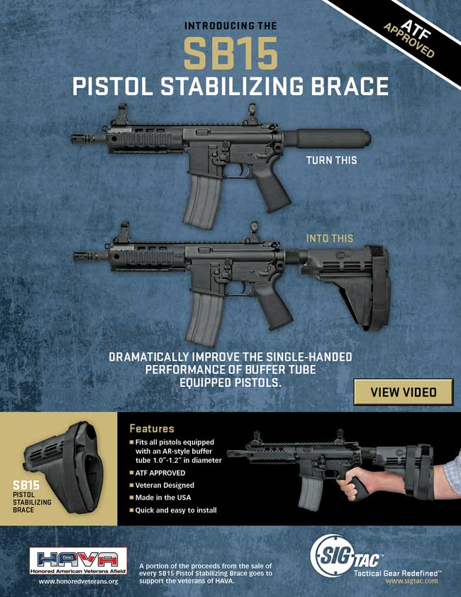 SB15 Pistol Stabilizing Brace (2)