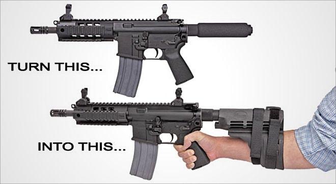 SB15 Pistol Stabilizing Brace