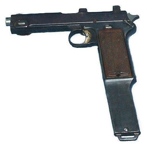 Steyr M1916 machine pistol