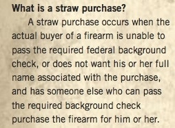 NSSF Definition of 'Straw Purchase'