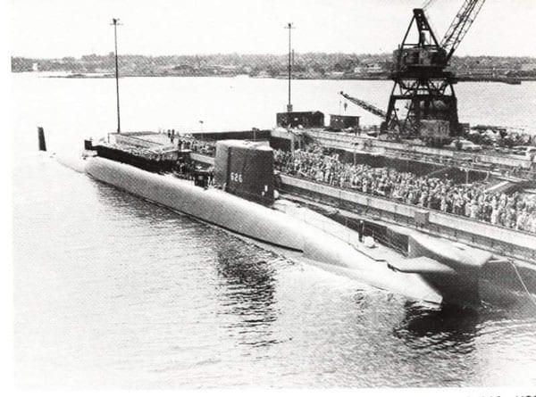 USS Daniel Webster, ballistic missile submarine