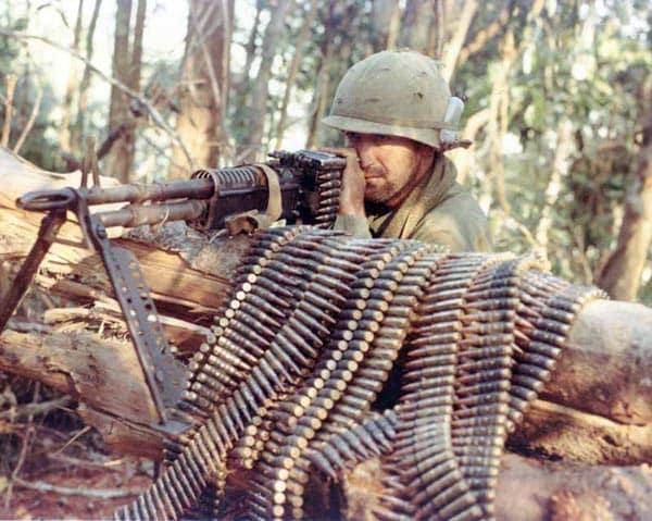 M60 gunner