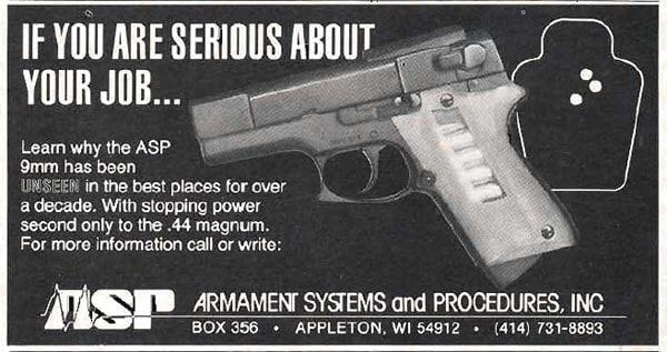ASP 9 advertisement.