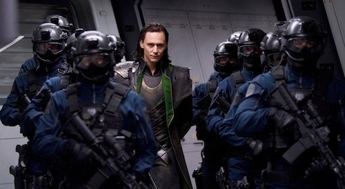 SHIELD Operatives from 'The Avengers'