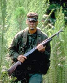 Unnamed soldier with Winchester Model 12