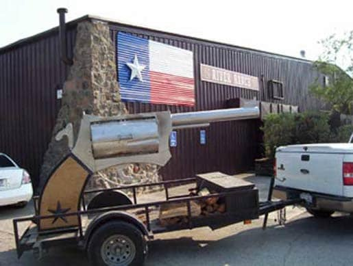 revolver bbq grill in texas