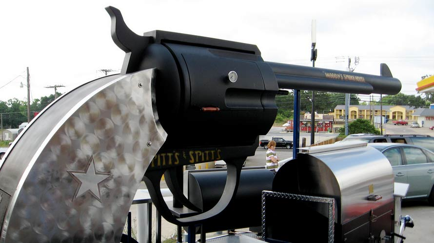pitts and spitts revolver grill