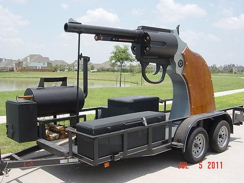revolver bbq smoker