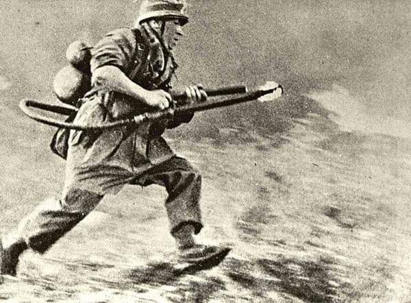 German WW2 Paratrooper