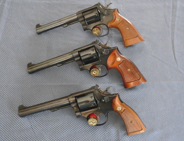 S&W K-frame revolvers