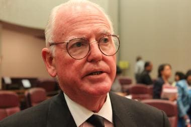 Chicago Alderman Edward Burke (Photo credit: DNA, Chicago)