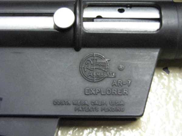 For collectable Armalite made AR7s, look for the Armalite logo