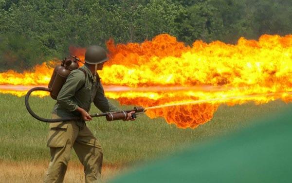 M1 Type Flamethrower.